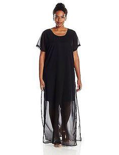 20 (Manufacturer Size:48), Black, Junarose Women's Dasha Short Sleeve Dress NEW