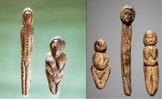 Siberia ~ made from a mammoth tusk. Pictures: Institute of Archeology and Ethnography