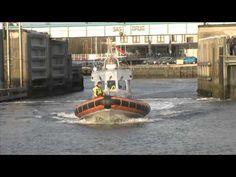Oude reddingboot (eerste motor reddingboot in NL) terug naar Terschelling