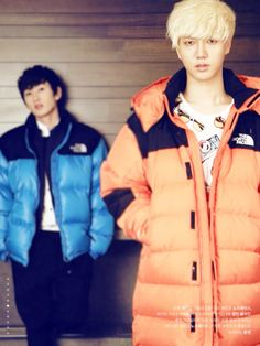 Super Junior - Eunhyuk and Yesung
