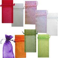 6 x 13 Organza Sheer Bags Organza Bags, Gift Baskets, Wedding Favors, Bridal Shower, Prints, Color, Sympathy Gift Baskets, Wedding Keepsakes, Shower Party