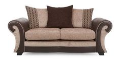 Large 2 Seater Pillow Back Deluxe Sofa Bed Sacha