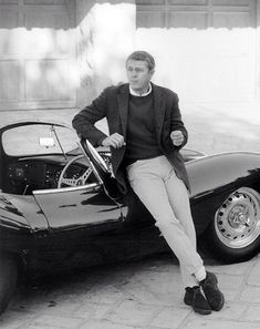 Steve and his infamous Ferrari
