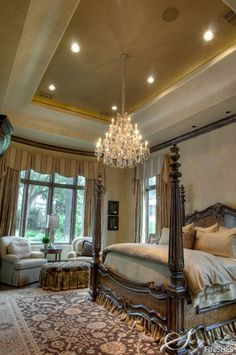 I love four poster beds.  Segreto - Fine Paint Finishes and Plasters - Plaster - Houston TX - Faux