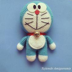 Ravelry: Doraemon amigurumi pattern by Tejiendo Amigurumis