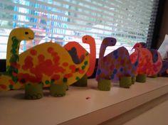 Dinosaur Do-A-Dot project for letter Dd