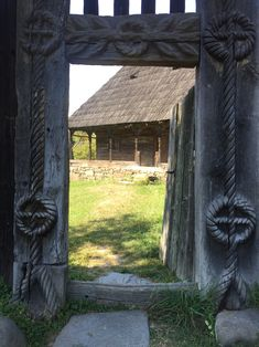 This is a traditional house from Maramures Gothic Buildings, Wooden Buildings, Europe Facts, Easter Vacation, Romania Travel, Rural House, Timber Structure, Best Seasons, Vernacular Architecture