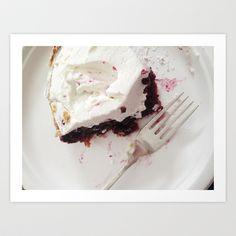 Boysenberry Pie Art Print - $20.00