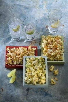 Hot Wasabi Popcorn Recipe