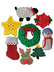 Annie's  Item # 835064   Christmas Ornaments Set 2 Pattern Pack