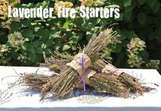At your next cook-out, fill the air with fragrance and deter bugs. Just throw a few lavender bundles onto your grill or into your wood-burning firepit.