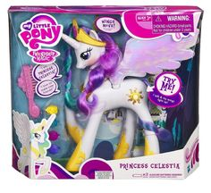 Amazon.com: My Little Pony Princess Celestia Collector Series (White): Toys & Games