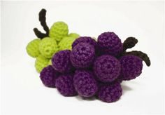 Fruit Basket #Grapes: free #crochet pattern