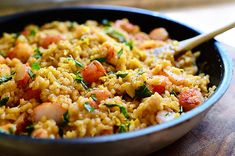 Lemon Basil Shrimp Risotto by Ree Drummond / The Pioneer Woman, via Flickr