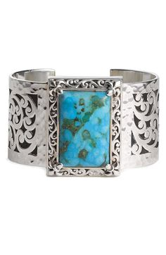 Lois Hill Cuff, $398. Turquoise!!!