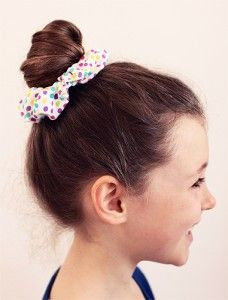 Scrunchies are BACK! Learn how to make your own here.