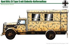 Afrika Korps, Engin, Trucks, Military Equipment, German Army, Panzer, Armored Vehicles, Military Art, World War Two
