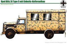 Military Art, Military History, Afrika Korps, Engin, Trucks, Military Equipment, German Army, Panzer, Armored Vehicles
