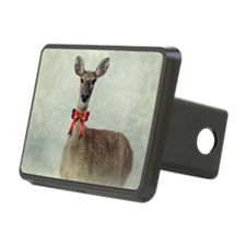 Christmas Deer Hitch Cover