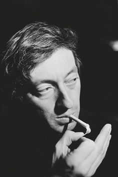 """""""Ugliness is superior to beauty because it lasts"""" – Serge Gainsbourg ph. Serge Gainsbourg at The King Club, 18 December 1967"""