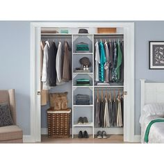ClosetMaid SuiteSymphony 16 Inch Wide Tower Kit