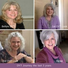 """What has been your Dressing Your Truth style evolution? What has changed as you've gone on with your journey? Anne shares: """"I thought I would share my 5 year Journey with DYT. My style continues to evolve. After 5 years, I think I look healthier and younger and more solid in my true nature. It's been life-changing. Thanks, Carol.:-)"""" #dressingyourtruth #shareyourbeforeandafter #beforeandafter #styleover50 #beautytransformation #styleover60 #styleevolution"""