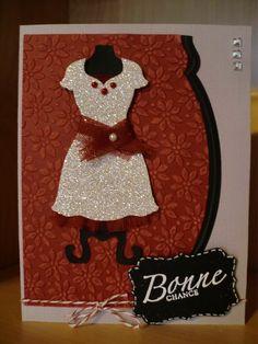Stampin' Up! dress up card
