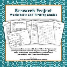 A couple questions about research paper structure?