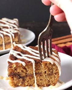 This Paleo Cinnamon Roll Coffee Cake has all the flavors of a cinnamon roll, but made easier! Gluten free, dairy free, and so delicious! This is a sponsored post on behalf of Frontier Co-op. All opinions are 100% my own, of course. Thank you for supporting the brands that help make Jay's Baki