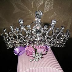 Elegance Crystal bride hair accessory wedding tiaras and crown for sale rhinestone pageant crowns head jewelry hair ornament