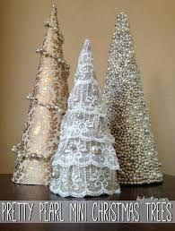 Image result for como fazer anjos de natal com cone de linha
