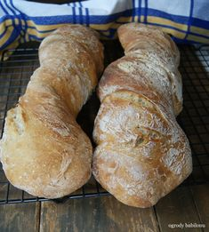 Polish Recipes, Polish Food, Our Daily Bread, Ciabatta, Recipies, Food And Drink, Rolls, Baking, Sweet