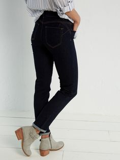 1b2a51b1 A great pair of dark wash jeans. They come in short length. Birch Straight