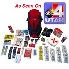 1-2 Person Bug Out Bag/ 72 Hour Kit- FAMILY STOREHOUSE- - In the most severe of natural disasters it can take First Response can take as long as 2-3 days to reach the disaster zone. This is the One of the Ultimate 72 hour kits available. The Hiker Backpack gives you support for the entire back and comes loaded with the emergency supplies for 1-2 people for 72 hours. Hands down one of the best you will ever see as far as quality and pricing.