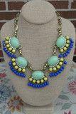 Gorgeous Glare - (Mint) | RMC JEWELRY#shoponline #shoprmc #rmcjewelry #statementnecklace #boutique #downtownsavannah