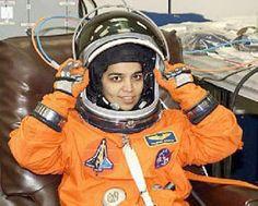 NASA - Kalpana Chawla was an American astronaut - Whirlpool Galaxy-Andromeda Galaxy-Black Holes Pierre Cardin, 1990s, Piercings, Calvin Klein, Nasa Astronauts, Whirlpool Galaxy, University Of Texas, Moda Emo, Space Shuttle