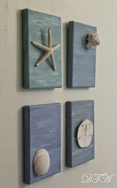 quick and easy 3d seashell art, crafts, home decor, wall decor
