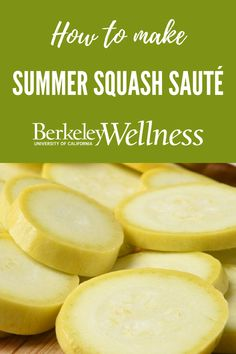 Pick up some fresh summer squash the next time you hit the #farmersmarket and make this delicious #vegetarian saute. http://www.berkeleywellness.com/healthy-eating/recipes/article/summer-squash-saute/?ap=2012 #recipe @skinnytaste