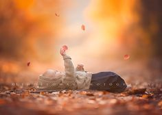 Can be cute to lay someone down and throw leaves or snow over them an catch their expressions