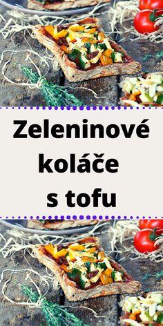Zeleninové koláče s tofu Tofu, Beef, Meat, Steak