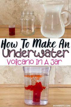 Underwater Volcano Experiment | Mombrite