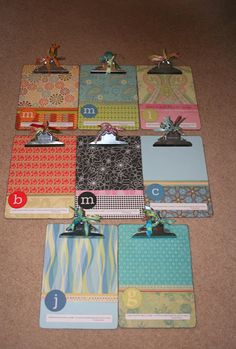 Pinner says... I have been making these clipboards for my daughters teachers since they started school. they love them & use them daily. 10 DIY CHRISTMAS GIFTS FOR TEACHERS