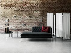 Lissoni+Living Divani. Textures, metals, light shapes