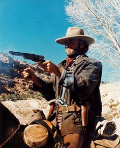 """The Outlaw Josey Wales """"Clint Eastwood"""" Clint Eastwood, Eastwood Movies, Best Western, Western Art, Western Cowboy, Peliculas Western, Cowboy Films, The Lone Ranger, Western Movies"""