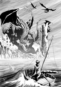 No one does dragons like U. K Le G. Her dragon lore is the simply the best. Earthsea bibliography by Ursula K. LeGuin