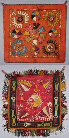 Lakai Embroideries, ca.1900, Uzbekistan