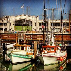Muelle de pescadores en San Francisco.