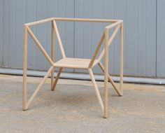 M3 Chair Minimalist Design - Thomas Feichtner