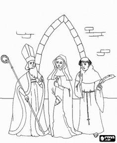 monjos de la edad mitjana