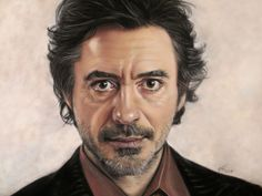 Val Simms Art - Icons and Celebrities Robert Downey Jr